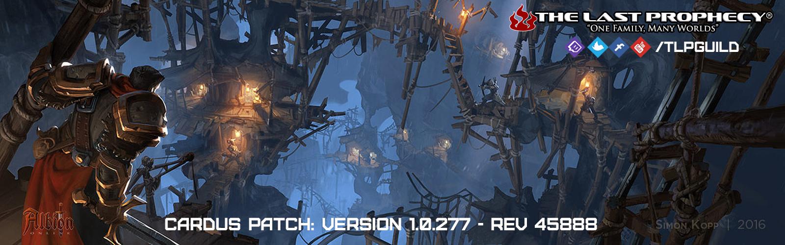 """Feature Release """"Cador"""" / Version 1.0.277 – REV 45888"""