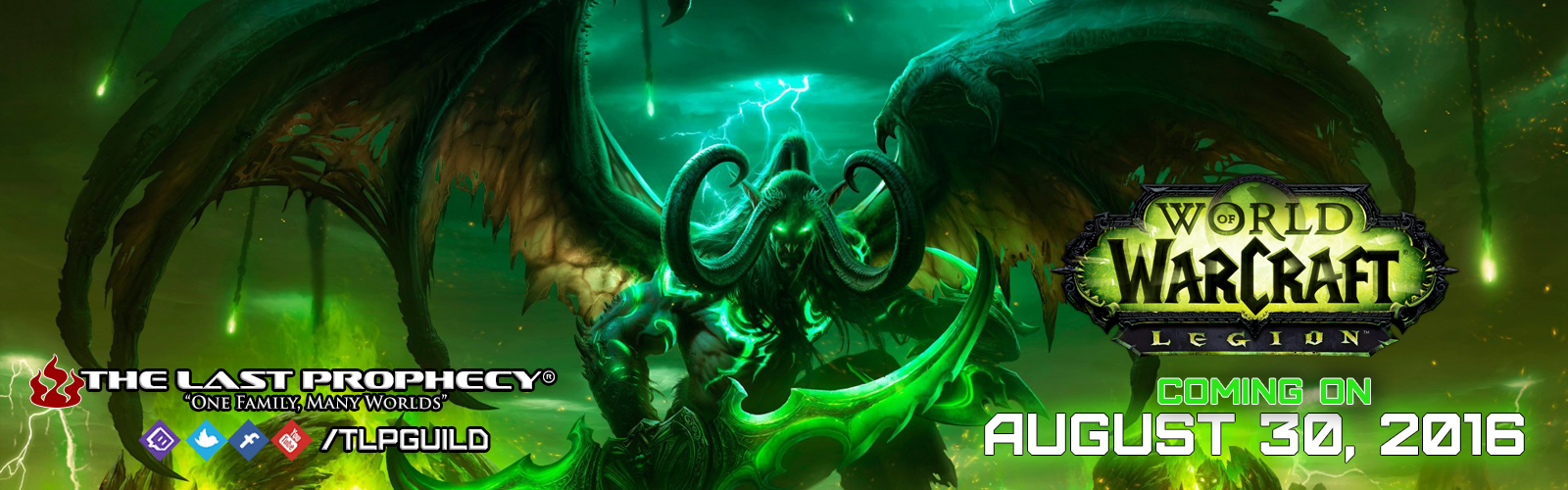Legion Launches on August 30th
