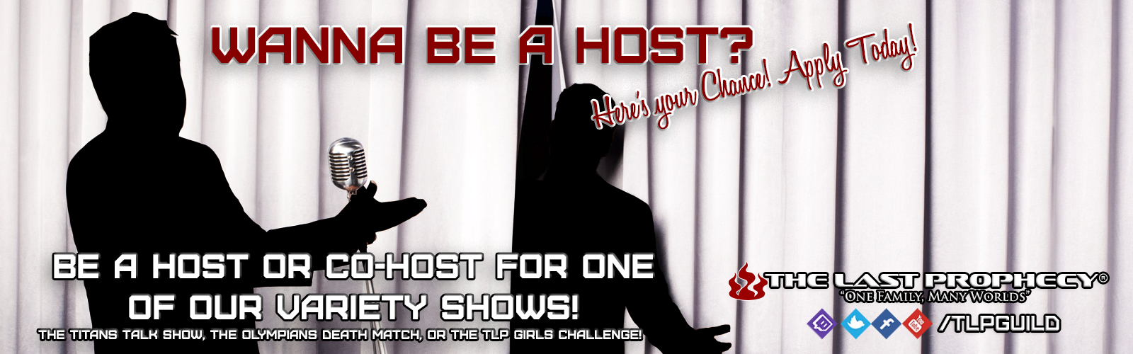 Wanna Be a Host?